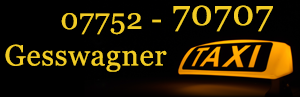 Taxi Gesswagner - Ried | Taxi-Service Neuhofen
